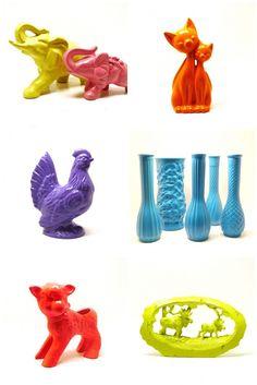 upcycled ceramics!