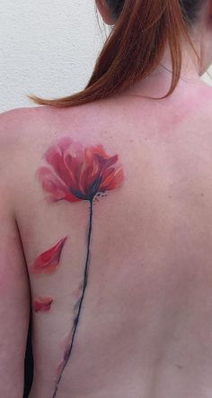 Flower on back by Ondrej Konupcik