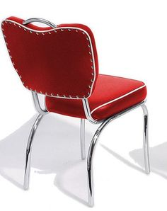 Handle Back Retro Diner Chair