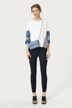 Slim fit jeans   Woman   Purificación García