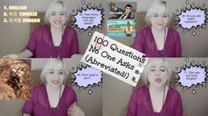 VLOG: 100 Questions No One Asks (Abreviated!) TAG