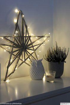 joulukoristeet,joulu,tähti,jouluvalot,pöllö