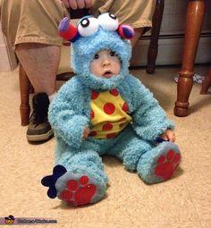 Lil Blue Monster - Halloween Costume Contest via @costume_works