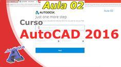 Curso de AutoCAD 2016 – Configurações para a Instalação do AutoCAD – Aul... Autocad 2016, Plants