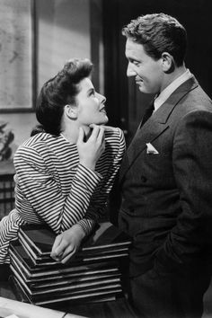 Iconic American Couples:Katherine Hepburn and Spencer Tracy