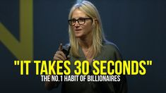 The Habit Billionaires Run Daily (Visualization) by Mel Robbins Ted Talks, Mel Robbins, Movies To Watch Online, Get Your Life, Life Rules, Self Discipline, Inspirational Videos, Negative Thoughts, Self Development