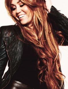 miley... she had the most gorgeous hair...