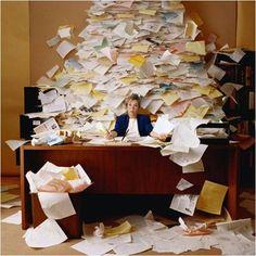 Como organizar a correspondência e documentos importantes