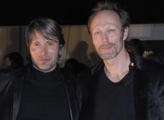 Mads & Lars Mikkelsen, love them both. Mads will be starring in Hannibel starting 4 4 2013