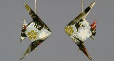 Origami Animal Jewelry, Origami Pins, Origami Earrings, Origami Jewelry Sets | The Paper Crane Origami