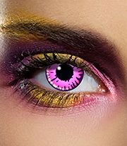 EDIT 90 Day Enchanted Coloured Contact Lenses (Purple/Pink)