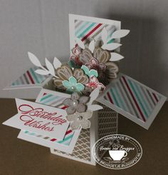 Yvonne's Stampin'& Scrap blog: Stampin' Up!  Cards in a box