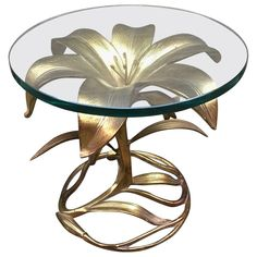 Arthur Court End Table - Gilded Lily American Post-Modern Aluminum, Glass Oriental Furniture, Iron Furniture, Deco Furniture, Unique Furniture, Home Decor Furniture, Home Decor Bedroom, Furniture Design, Modern Southwest Decor, Classic Home Furniture