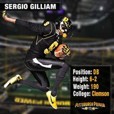 Sergio Gilliam- DB