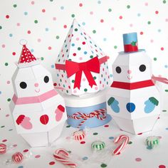 PAPER TOY CHRISTMAS - Pesquisa Google