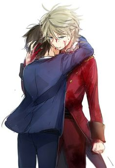 Aldnoah.Zero - Slaine and Inaho