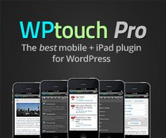 For mobile views of your website...ONLY WP Touch Pro Mobile Plugin for WordPress will do