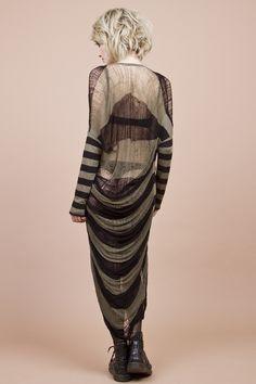 Gestricktes Kleid // knitted dress by commeonveut via DaWanda.com