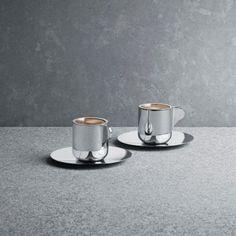 Tea with Georg - Espresso cup with saucer, 2 pcs.   Skandium