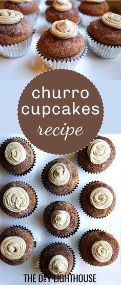 churro cupcakes for cinco de mayo