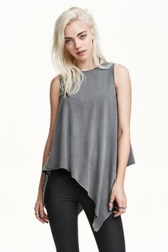 Sleeveless Top - Emerging Sleeveless Top by VIDA VIDA Wholesale Price Cheap Price 100% Guaranteed Cheap Online Cheap Sale Really FF7WdsrO