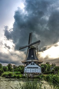 Water and sawmill by Wilco van der Laan Fotografie on 500px