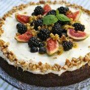 Gulrotkake Dairy Free Baking, Milk And Eggs, Fodmap, No Bake Cake, Nom Nom, Muffins, Cheesecake, Healthy Recipes, Healthy Food