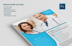 Medical health care Flyer by Themefisher on Creative Market