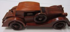 jmc65 Wooden Antique Car Series 1935 Auburn 851 SC