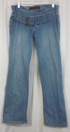 Mudd Jeans Size 11 Jr 32x31 Boot Cut Low Rise Free Shipping #Mudd #BootCut