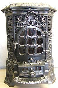 French wood burning stove