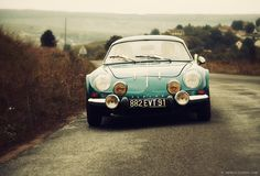 The Alpine A110 Looks at Home in the French Countryside - Photography by David Marvier for Petrolicious