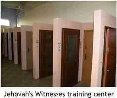 Jehovah witness training center