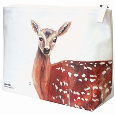 I Just Love It Deer Wash Bag Deer Wash Bag - Gift Details. Whether youre going on holiday and in need of a wash bag or looking for something nice to keep your make-up in our gorgeous Deer Wash Bag should do the job!. Featuring a  http://www.MightGet.com/january-2017-11/i-just-love-it-deer-wash-bag.asp