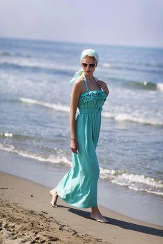 Pepita Beachwear Spring Summer 2014. Audrey abito lungo