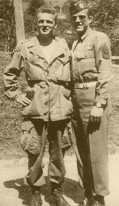 Don Malarkey and Floyd Talbert from Easy Company / Band of Brothers