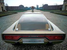 Concept Car of the Week: Citroën Camargue (Bertone) 1972 - Car Design News