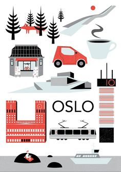 Graphic design and illustration student at Oslo National Academy of the Arts («Kunsthøgskolen i Oslo Norway Oslo, Wall Decor Stickers, Visual Communication, Vintage Walls, New Product, Retro Vintage, Kids Room, Illustration, Projects
