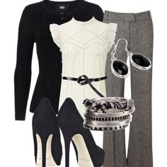 cute dressy/work outfit.