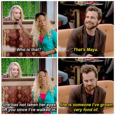 "#GirlMeetsWorld 2x08 ""Girl Meets Hurricane"" - Maya, Angela and Shawn"