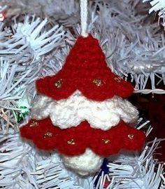 Peppermint Christmas Tree FREE crochet pattern ༺✿ƬⱤღ✿༻