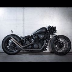 Bobber Inspiration | Honda 600 Shadow bobber by Made Men | Bobbers and Custom Motorcycles