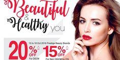 OG Singapore Beautiful & Healthy You Promotion 13-23 Oct 2016