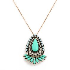 Buy TURQUOISE MINTY BLOOM • Just Pretty Things