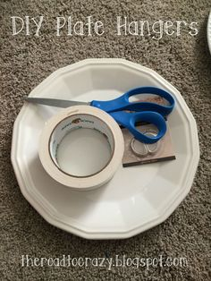 Hello all! To those that have been following for a while you know · Plate HangersThe ... & The Road to Crazy: DIY Plate Hangers \u2026 | Pinteres\u2026