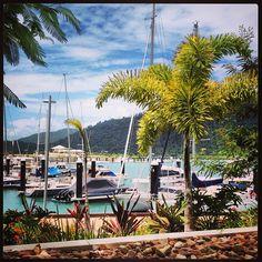 Next destination :) Airlie Beach marina Whitsundays Queensland #Australia