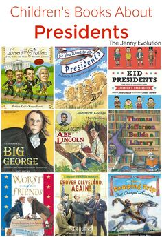 Childrens Books about Presidents -- Perfect for President's Day! PLUS Free Study Unit Ideas about Presidents for Classroom or Homeschool