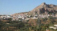 Cogollos Vega in the area of Granada Granada Province Spain.