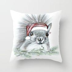Christmas Squirrel - $20