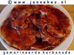 recepten voor gemarineerde karbonade